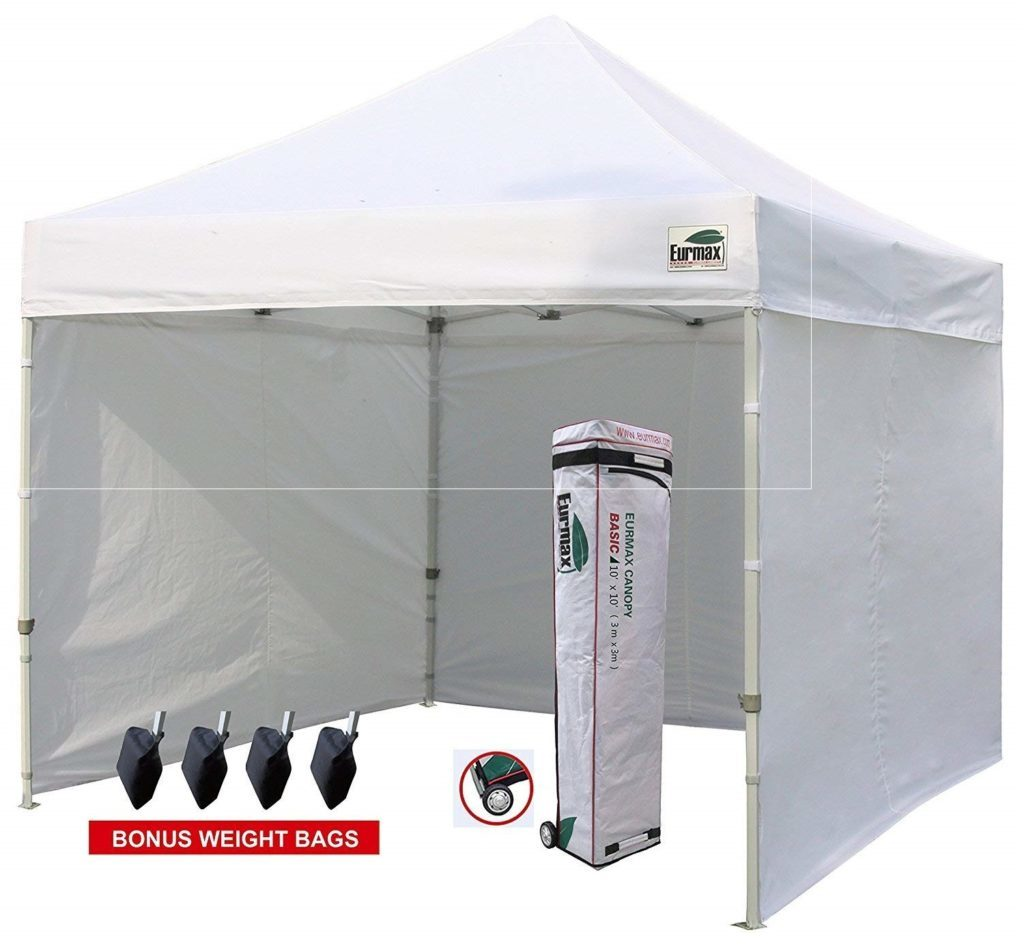 Eurmax 10'x10' Ez Pop-up Canopy
